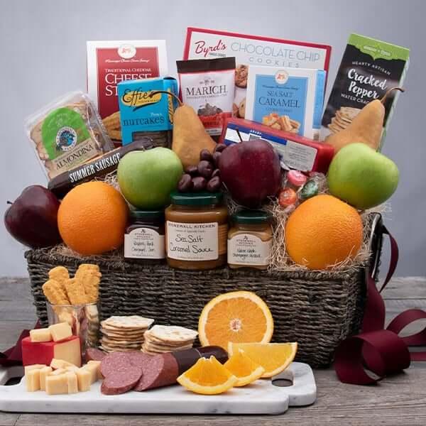 Gourmet Gift Basket Delivery in Boston, MA