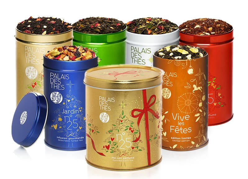 Palais des Thés Gift Box Collections for delivery in Washington DC