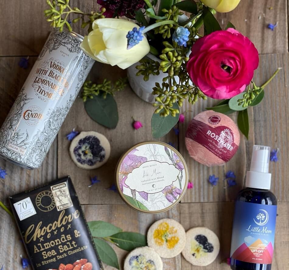 Plum Sage Flowers Gift Basket Delivery in Denver, CO