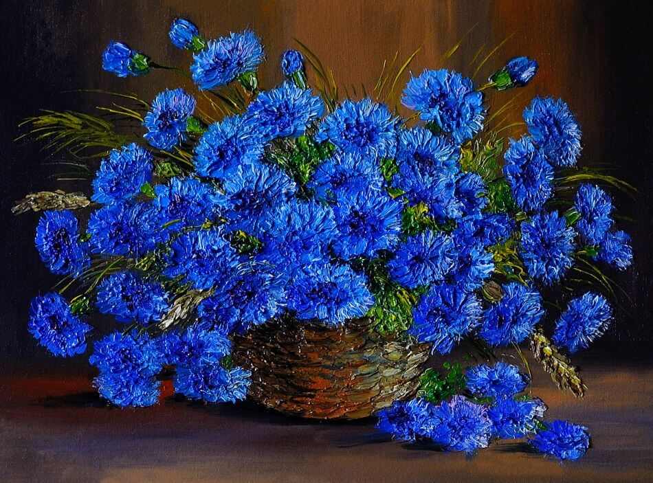 The Color Blue in Art and Literature
