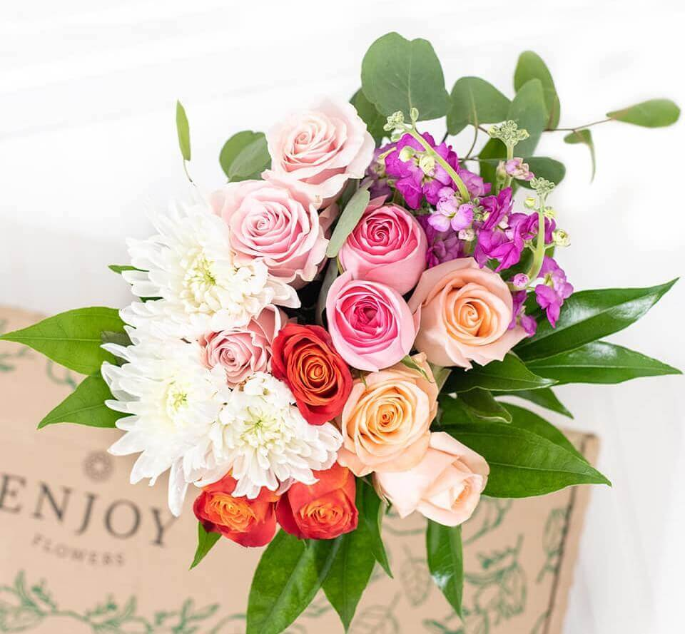 Enjoy Flowers Subscription Box Delivery in Chicago