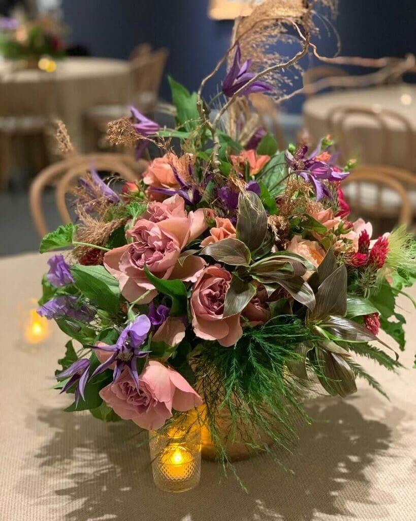 FleursBELLA floristry studio in NYC