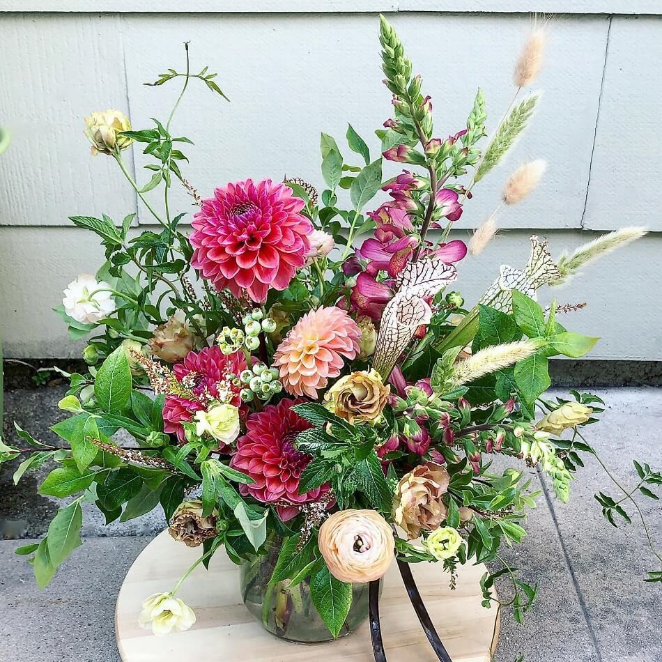 Foxgloves and Folly Flowers by Subscription in LA