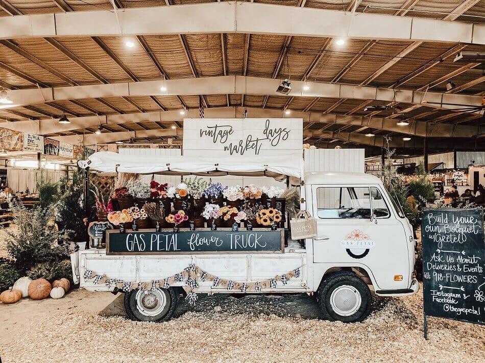 Gas Petal Flower Truck in Tulsa, OK
