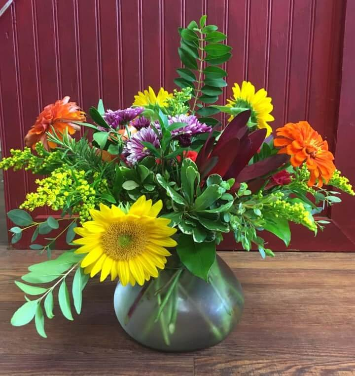 The Flower Cupboard in Raleigh, North Carolina