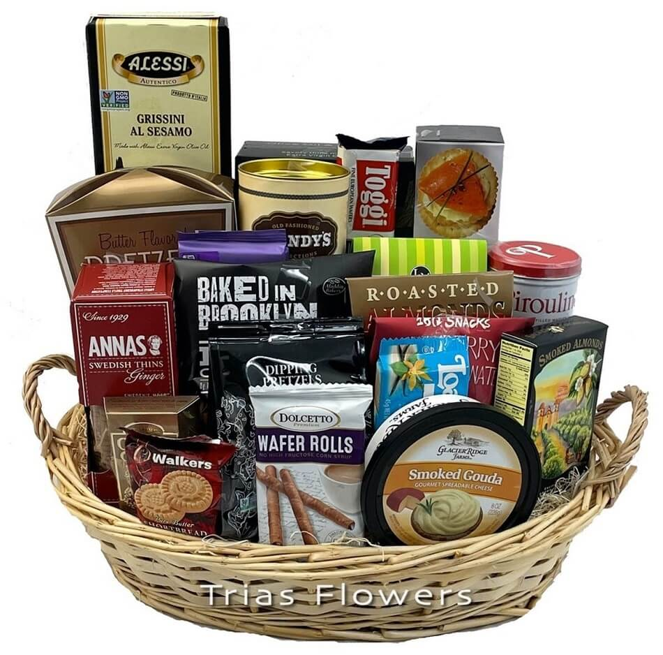 Trias Flowers Gift Basket Delivery Service in Miami, Florida
