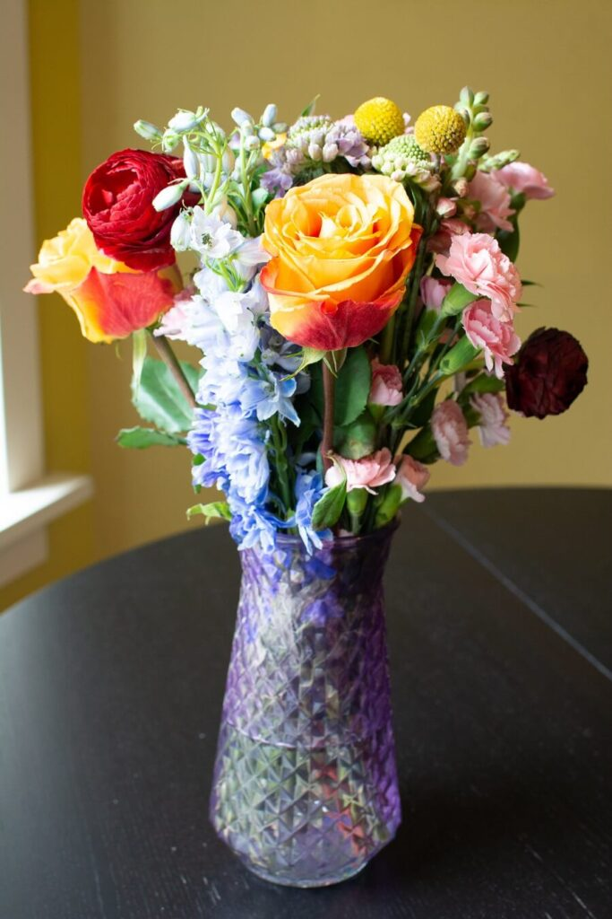 UrbanStems The Prism Bouquet in a Vase