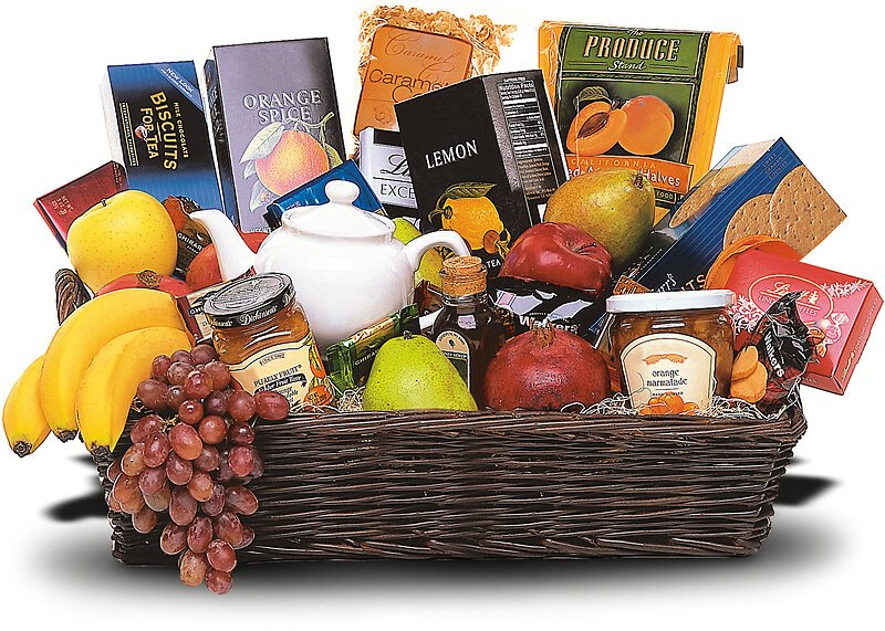 Arlington Flower Shop Classic Fruit Gift Baskets for Delivery in Jacksonville, Florida