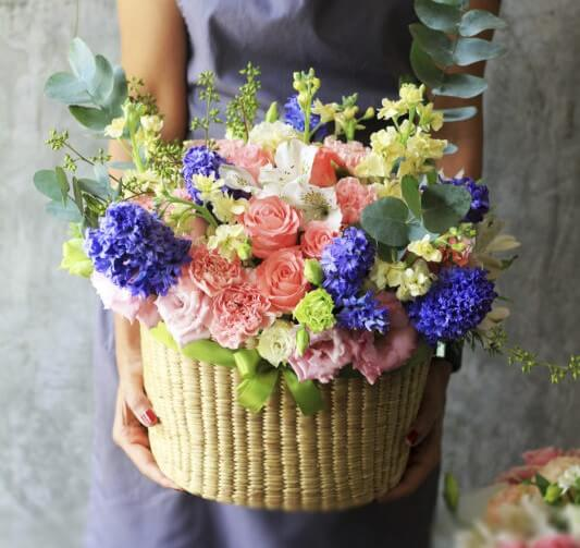 Madison House Designs Bountiful Floral Gift Baskets in Columbus, Ohio