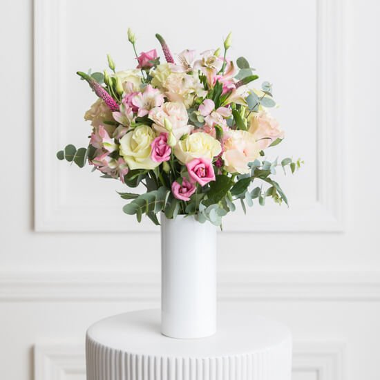 Ode a la Rose French Flower Arrangements available for same-day delivery in Los Angeles