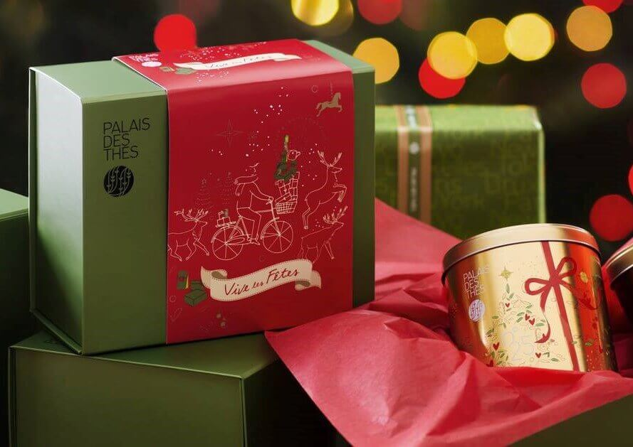 Palais des Thés Tea Gift Box Delivery Service in NYC