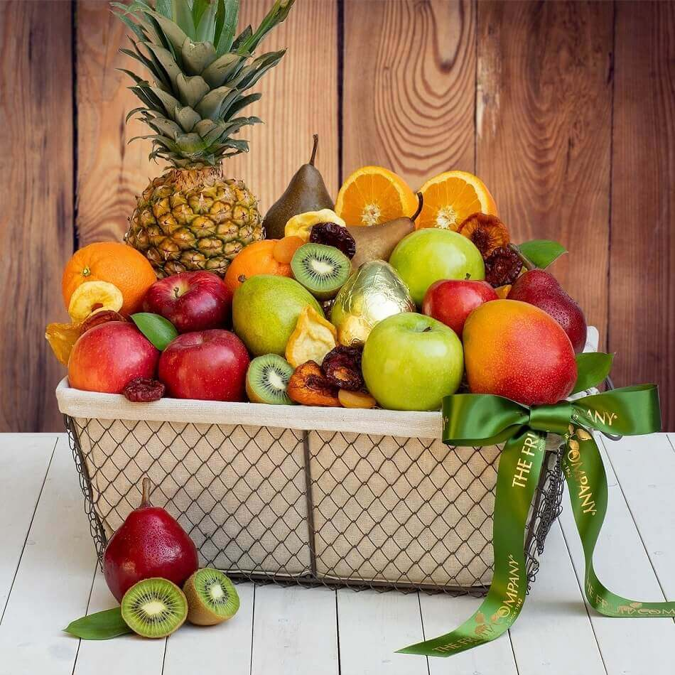 The Fruit Company Classic Gift Basket Delivery in NYC