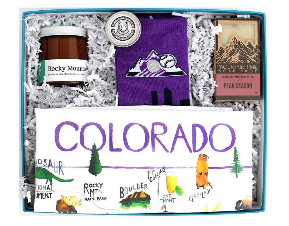 Colorado Crafted Gift Basket Delivery in Colorado Springs