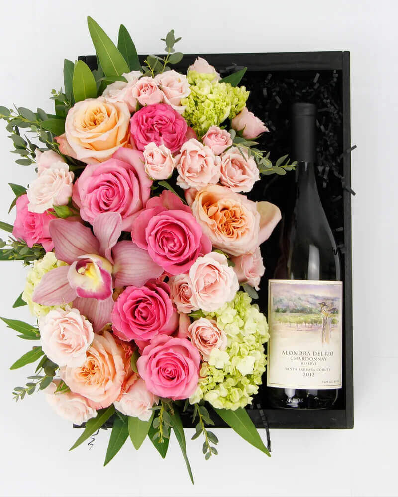 Dr Delphinium Luxury Gift Basket Delivery in Fort Worth, Texas