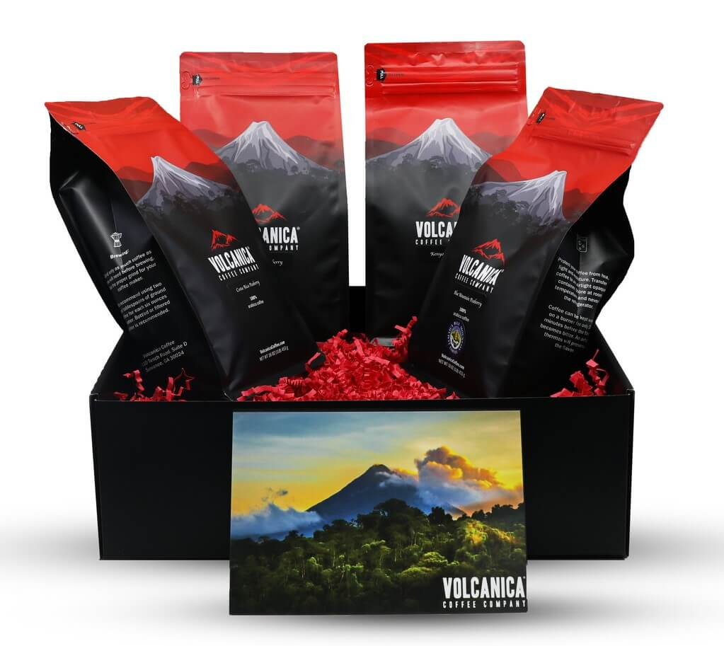 Volcanica Gourmet Coffee Gift Box Delivery in Kansas City, MI